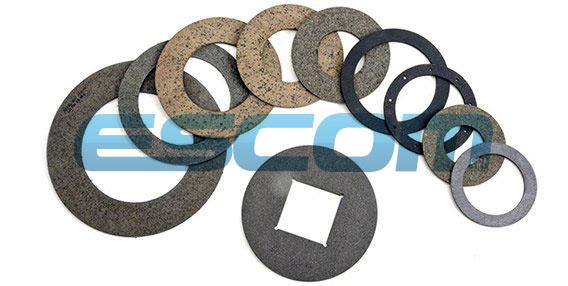 Кольца, шайбы из фрикционного материала