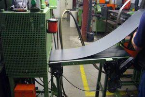 линия по производству фрикционного материала Beral (Берал) в действии